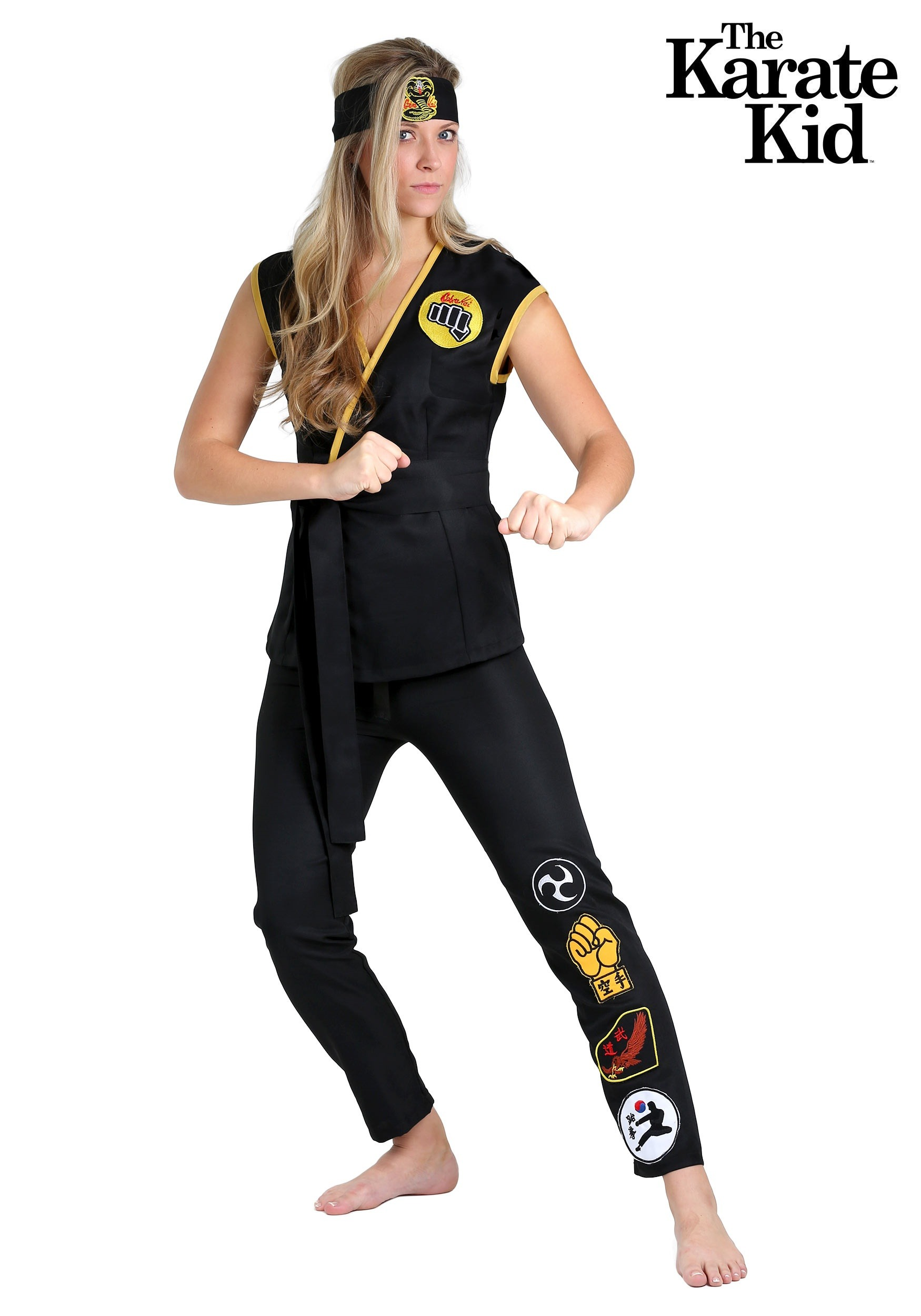Cobra Kai Womens Costume