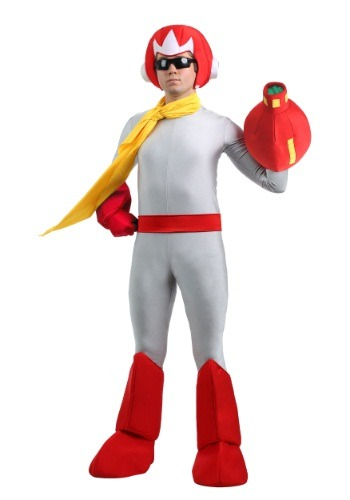 Click Here to buy Mega Man Mens Proto Man Costume from HalloweenCostumes, USA Funds & Shipping