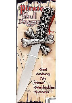 Skull Pirate Dagger