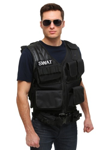 Click Here to buy Adult Tactical SWAT Vest from HalloweenCostumes, CDN Funds
