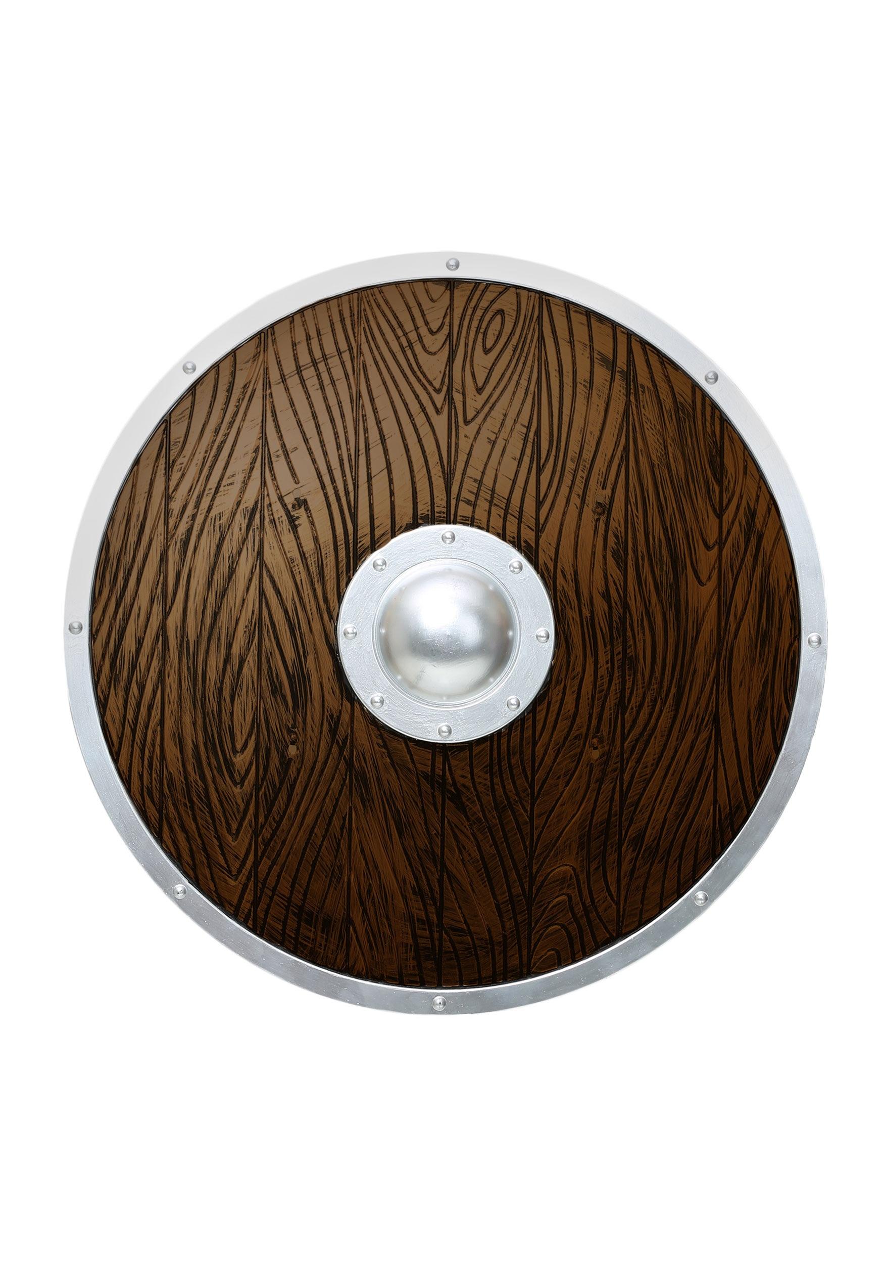 Halloween decorations indoor - Wooden Viking Shield
