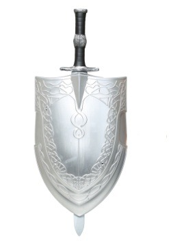 Woman's Sword & Shield