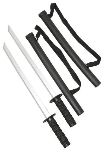 Two Sword and Sheath Ninja Set