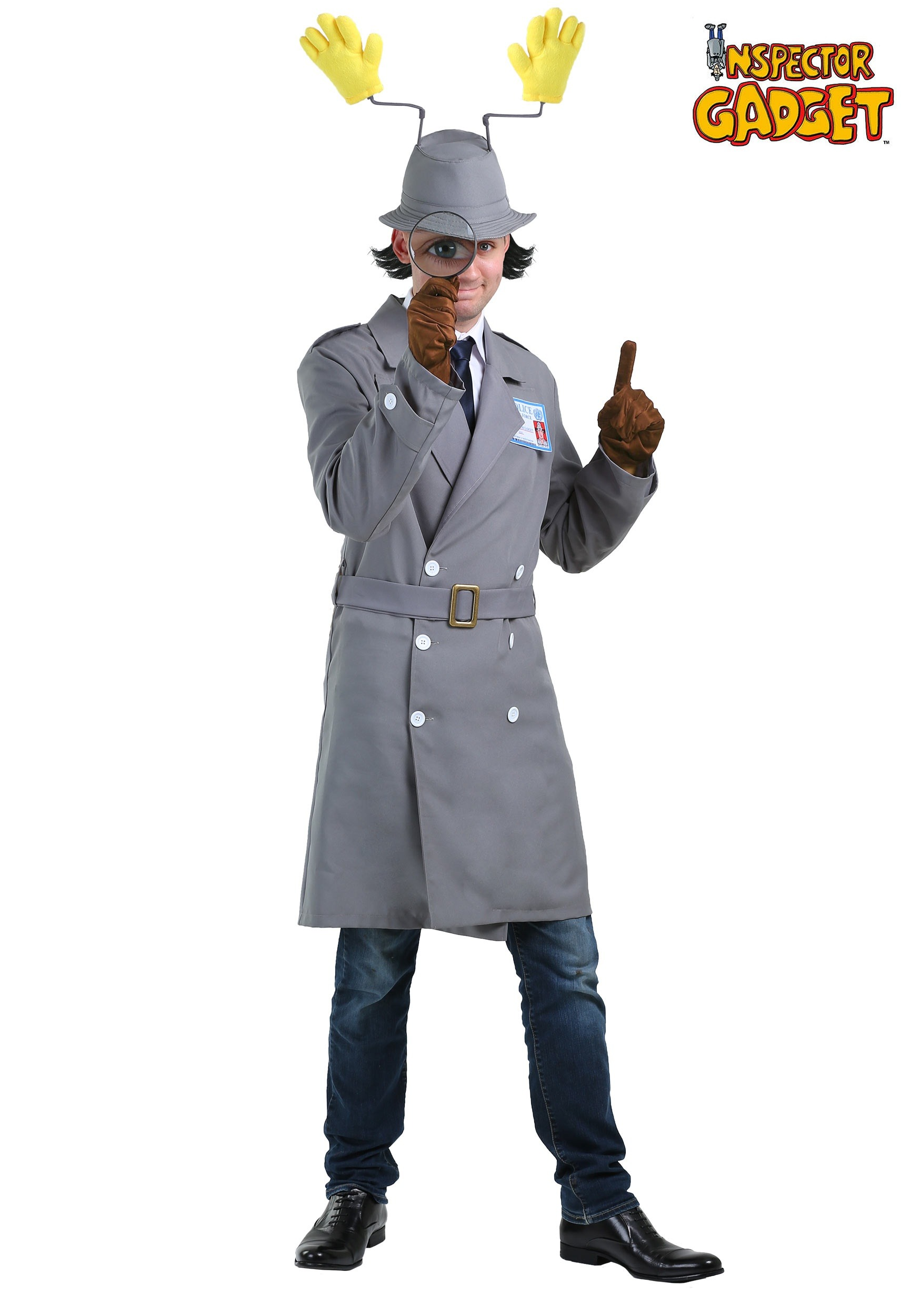 how to make inspector gadget costume