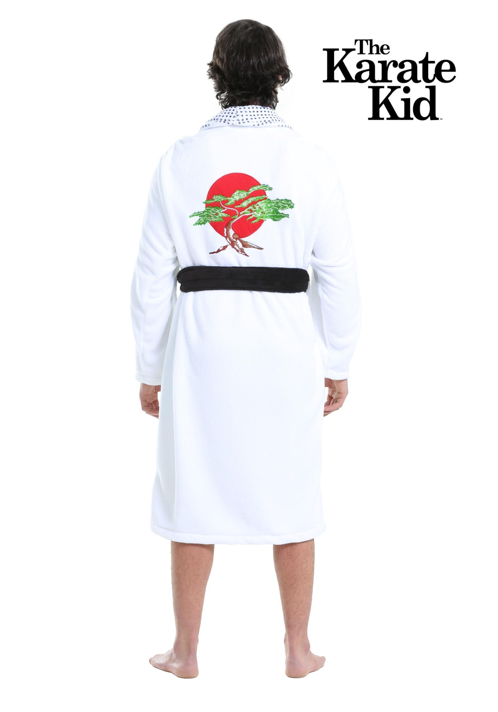 Karate Kid Daniel San Bathrobe Costume