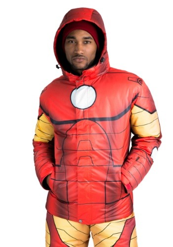 Image of Adult Iron Man Snow Jacket