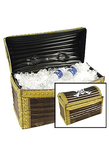 Pirate Treasure Chest Inflatable Cooler By: Forum Novelties, Inc for the 2015 Costume season.