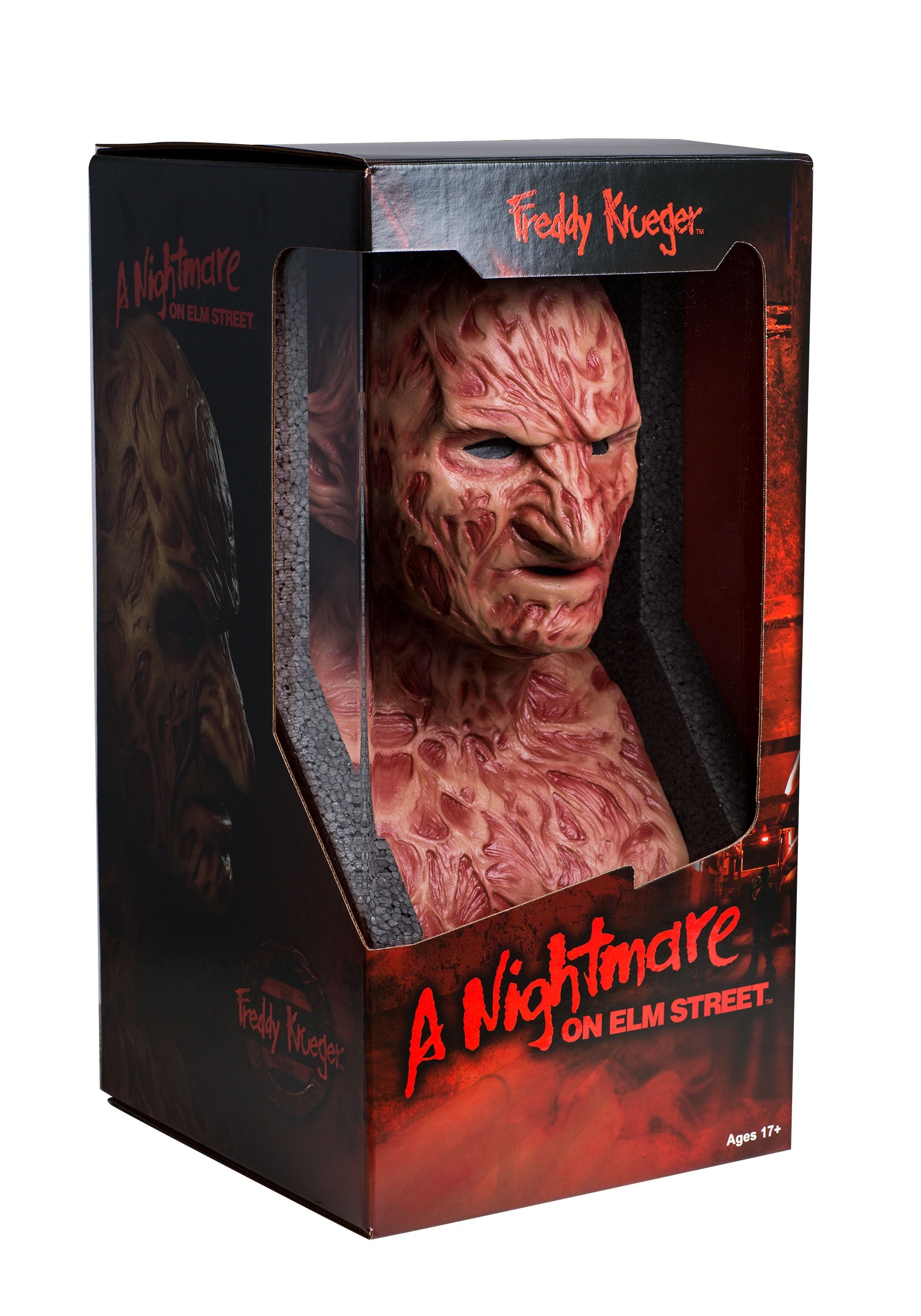 Authentic Freddy Krueger Collector's Mask