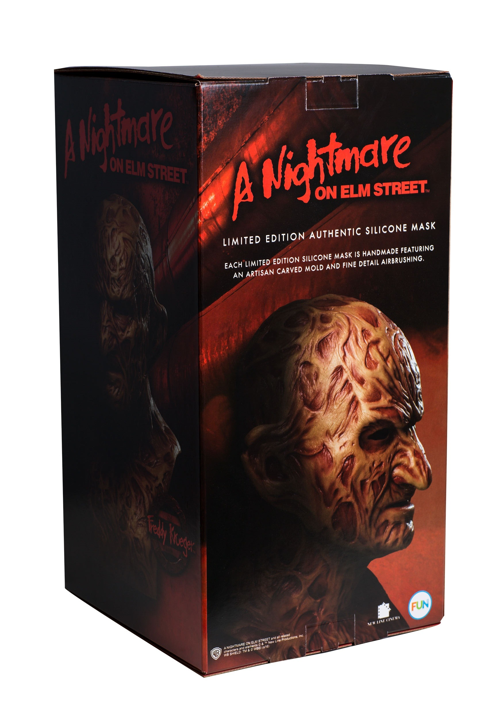 0cf6e0afa40 Authentic Freddy Krueger Collector s Mask
