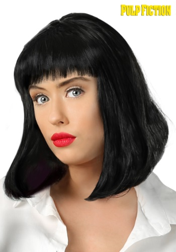Pulp Fiction Mia Wallace Wig for Adults FUN6637AD-ST