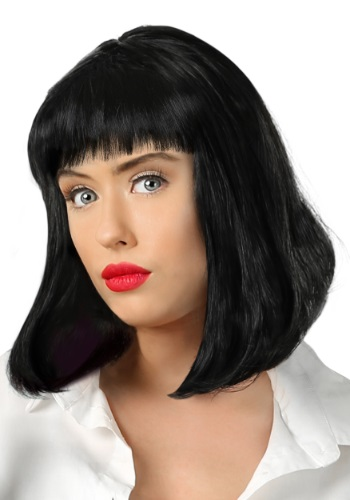 Adult Pulp Fiction Mia Wallace Wig FUN6637AD
