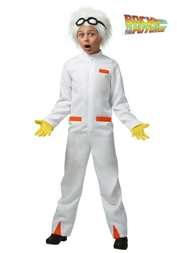 Child Doc Brown Costume