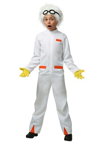 Click Here to buy Back to the Future Doc Brown Kids Costume from HalloweenCostumes, USA Funds & Shipping