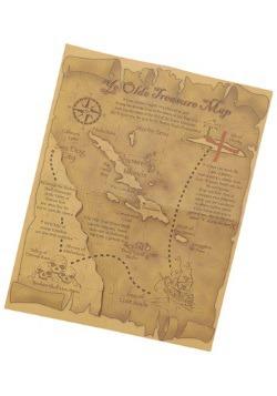 Treasure Map Accessory