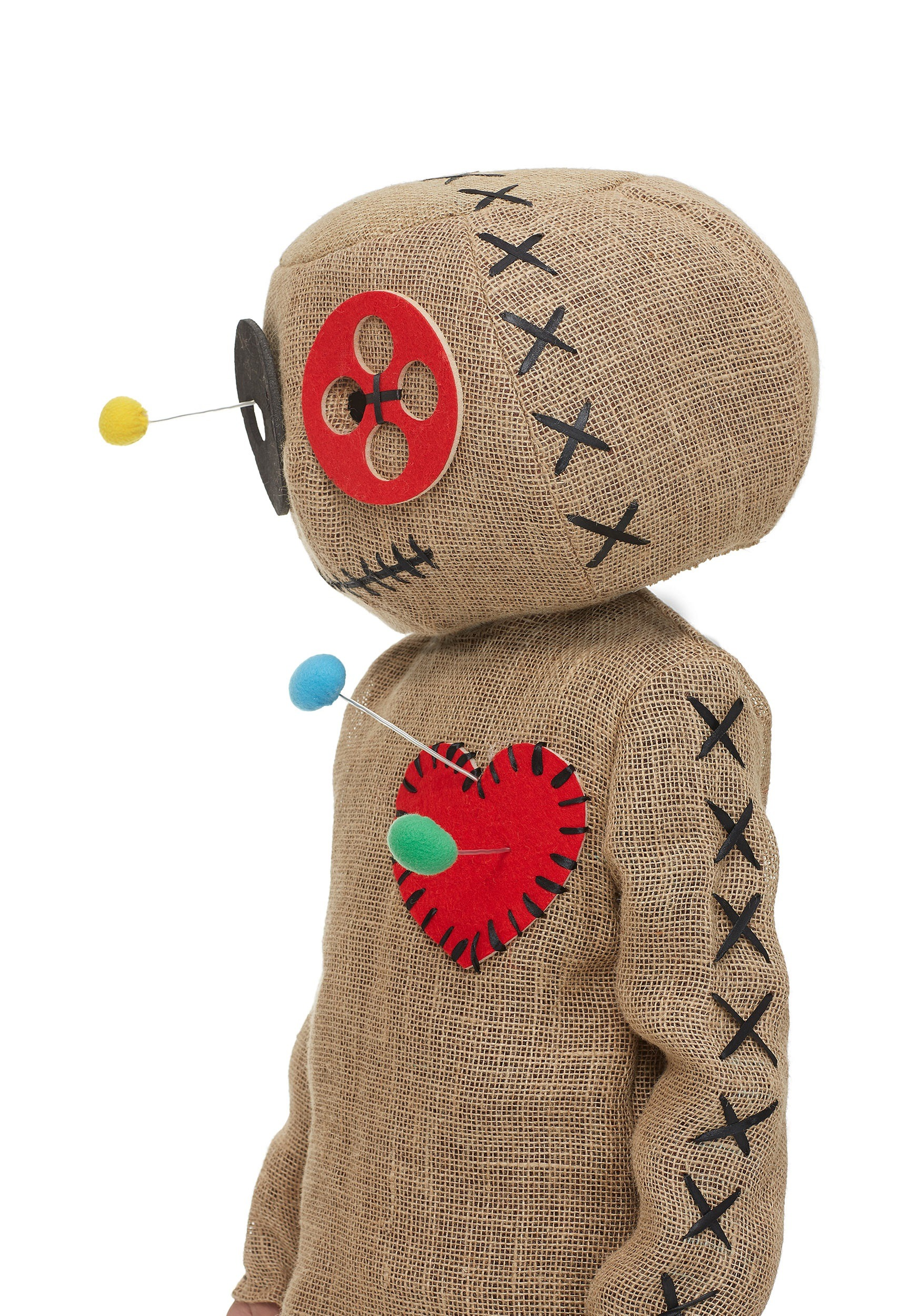 how to make voodoo doll halloween costume