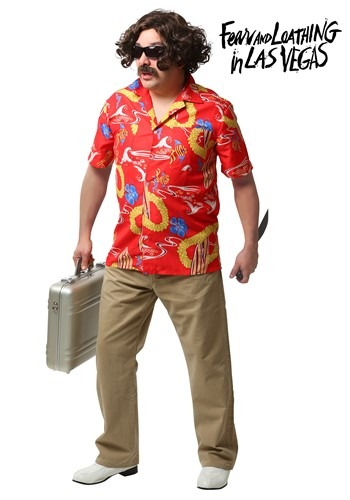 [Fear and Loathing In Las Vegas Adult Dr. Gonzo Costume] (Gonzo Adult Costumes)
