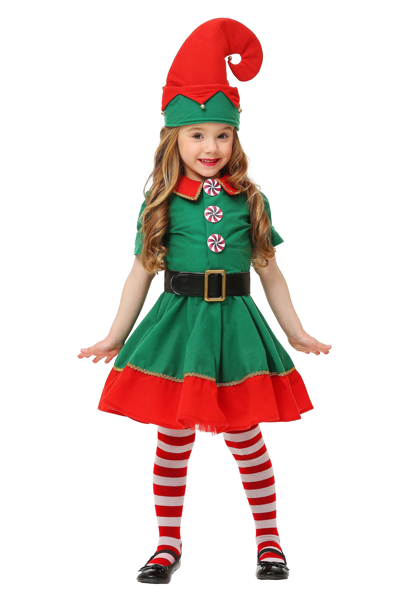 Toddler Holiday Elf Costume