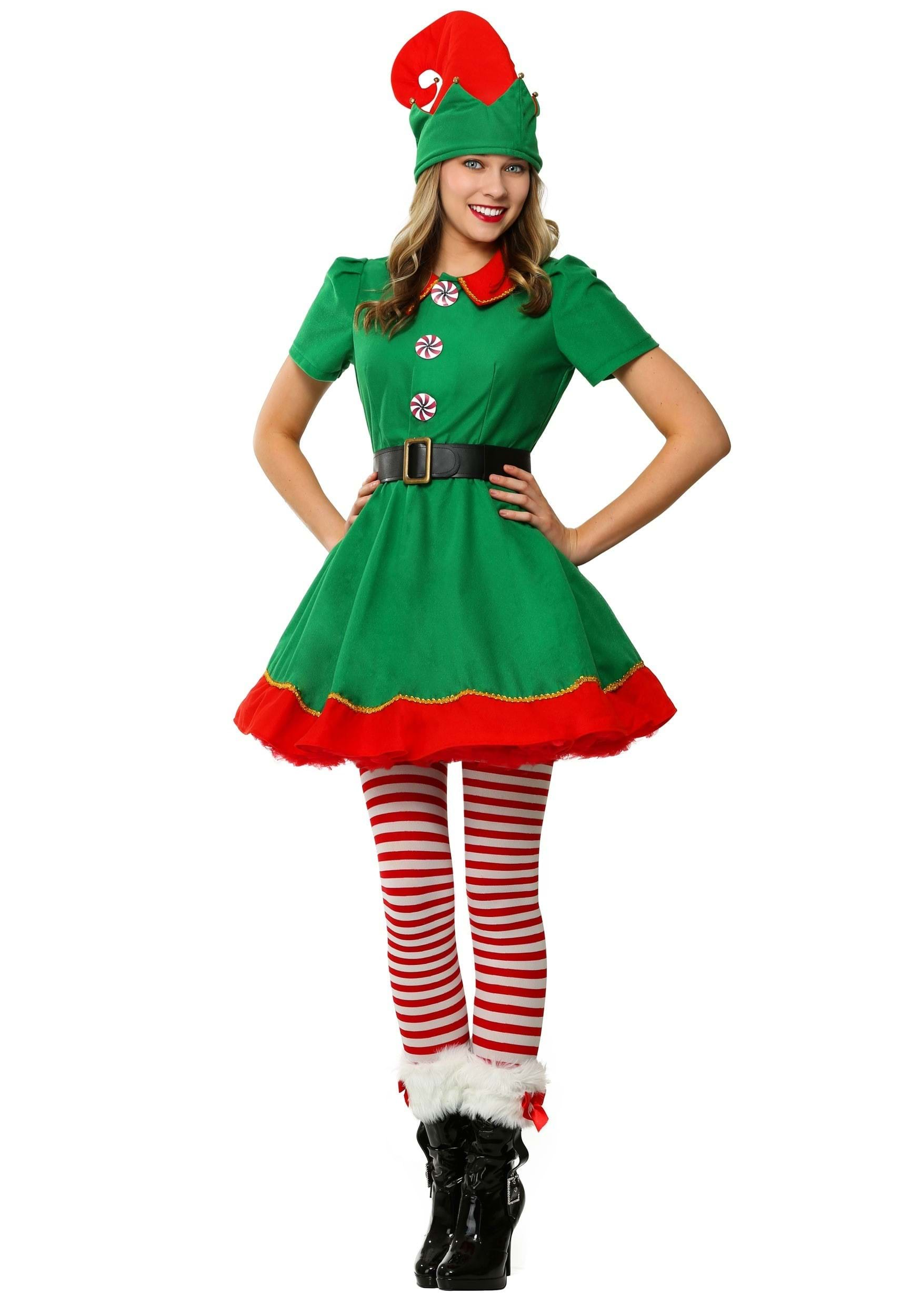 Christmas Cheer Holiday Santa Claus Adults Costume One Size Red