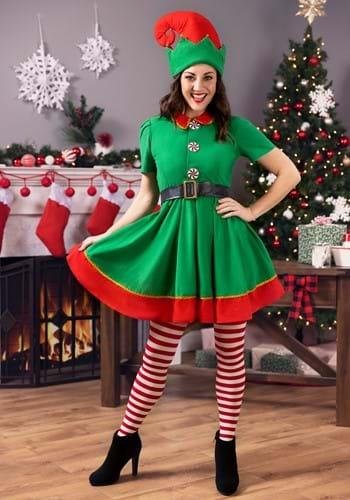 Women's Holiday Elf Costume update1