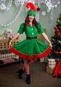 Women's Holiday Elf Costume alt1