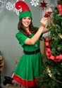 Women's Holiday Elf Costume alt2