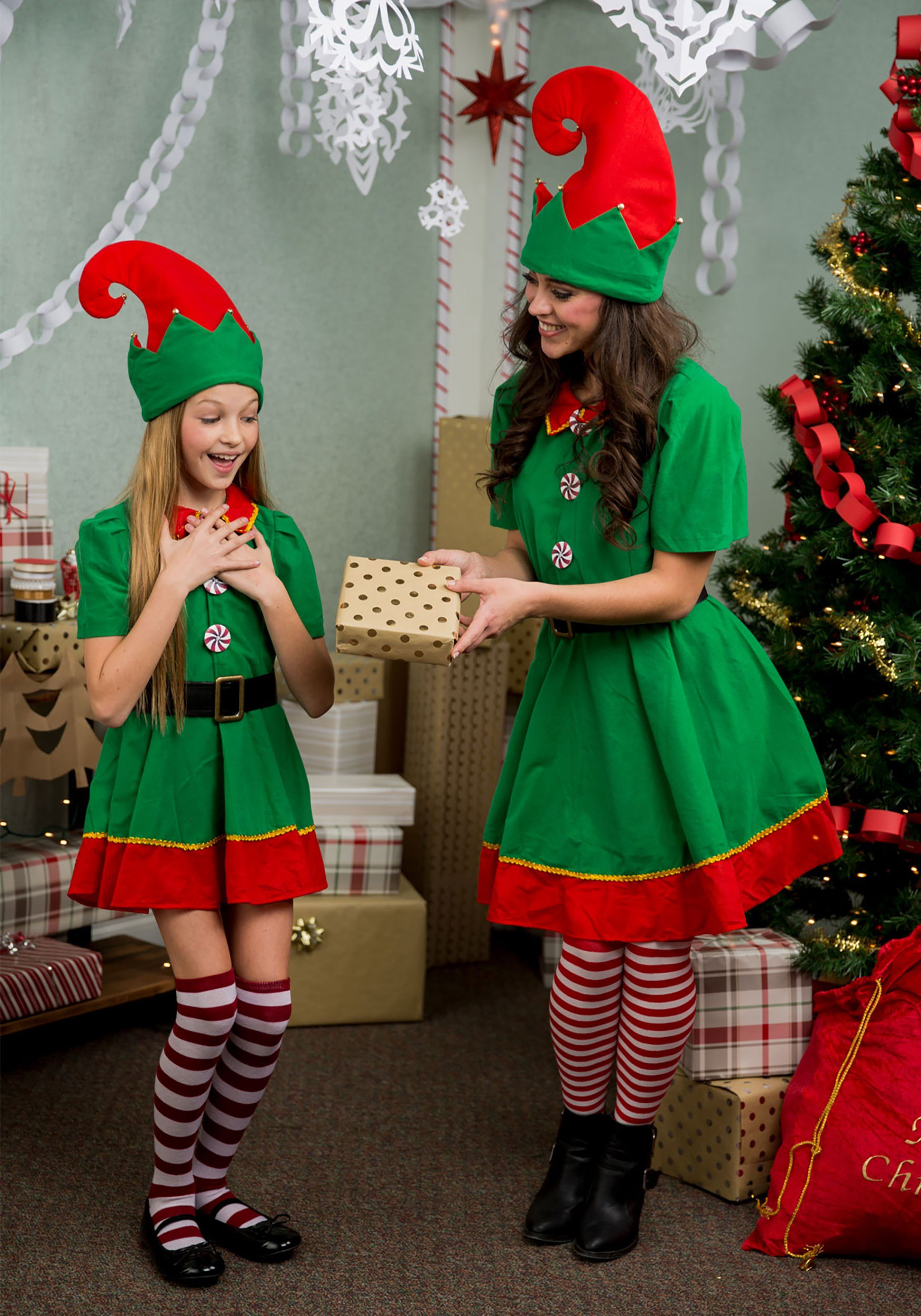 ec25a5a69f5 Women s Holiday Elf Plus Size Costume 1X 2X 3X
