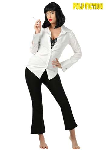 mia wallace pulp fiction costume for women. Black Bedroom Furniture Sets. Home Design Ideas