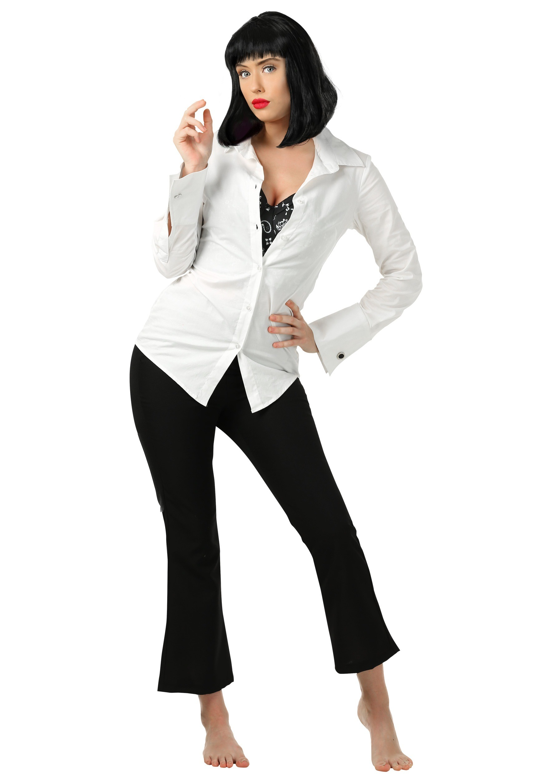 Adult Mia Wallace Pulp Fiction Costume FUN6636AD