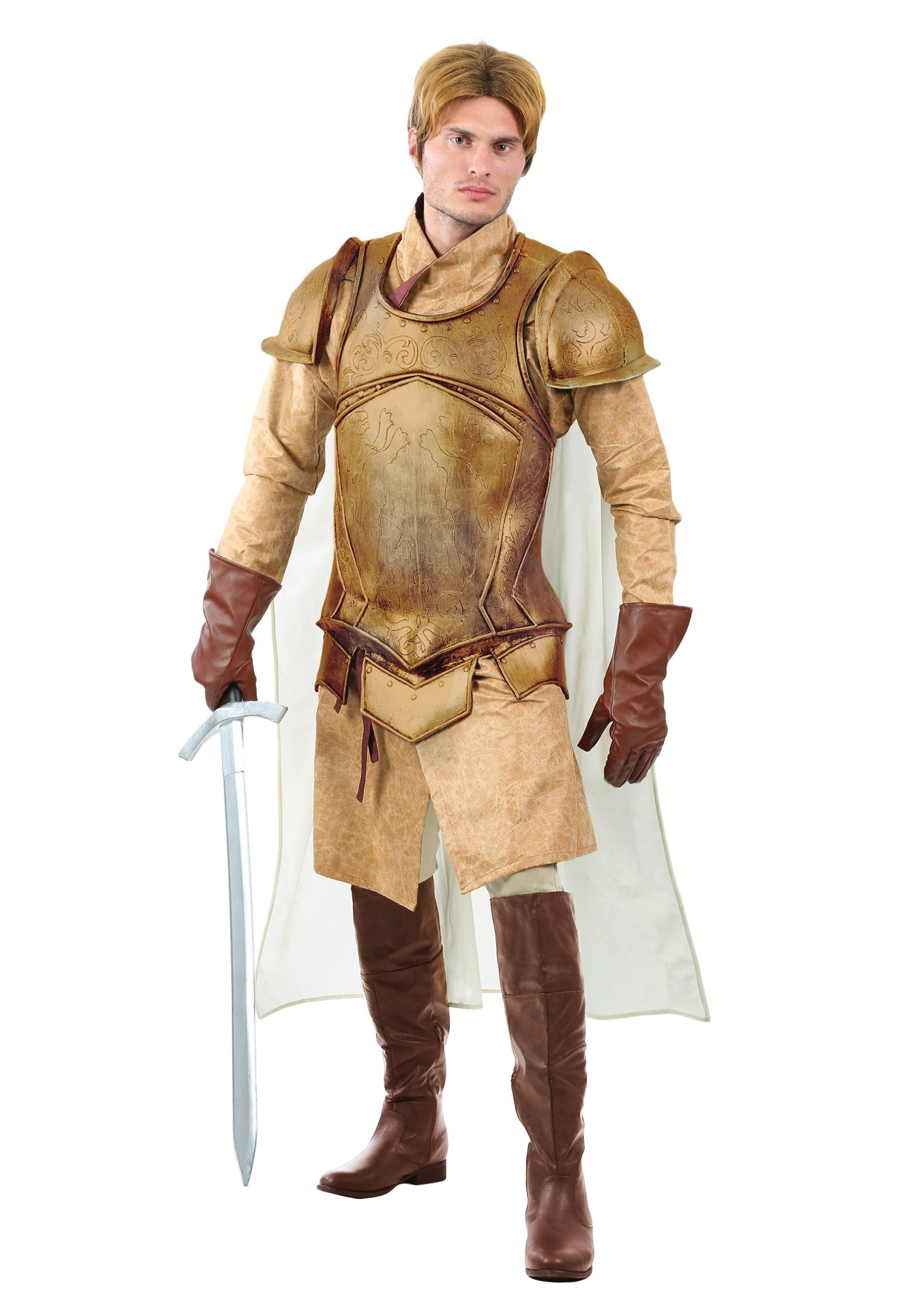 Renaissance Knight Mens Costume  sc 1 st  Halloween Costumes : knights templar costume authentic  - Germanpascual.Com