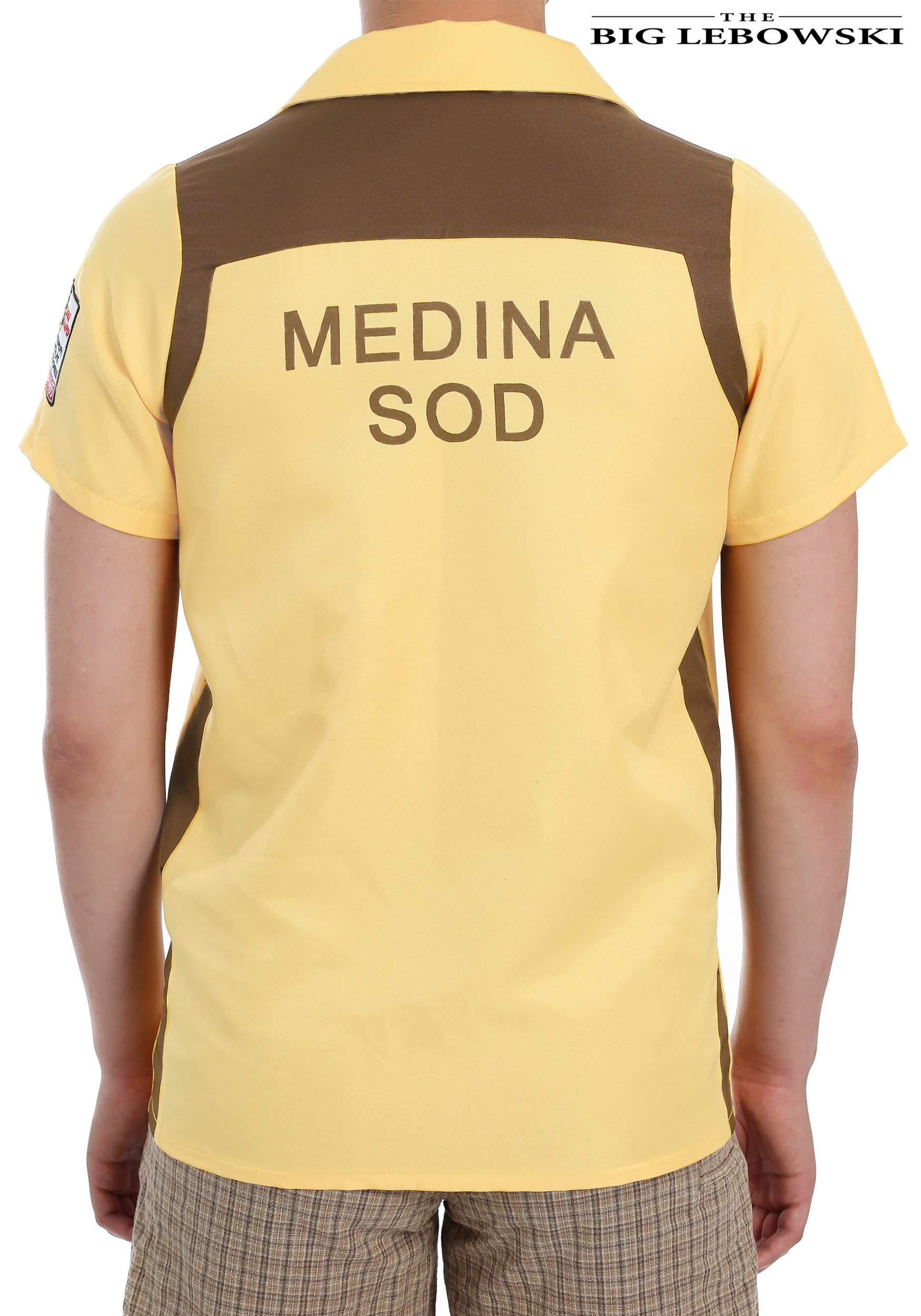 The Big Lebowski Medina Sod Bowling Shirt For Men