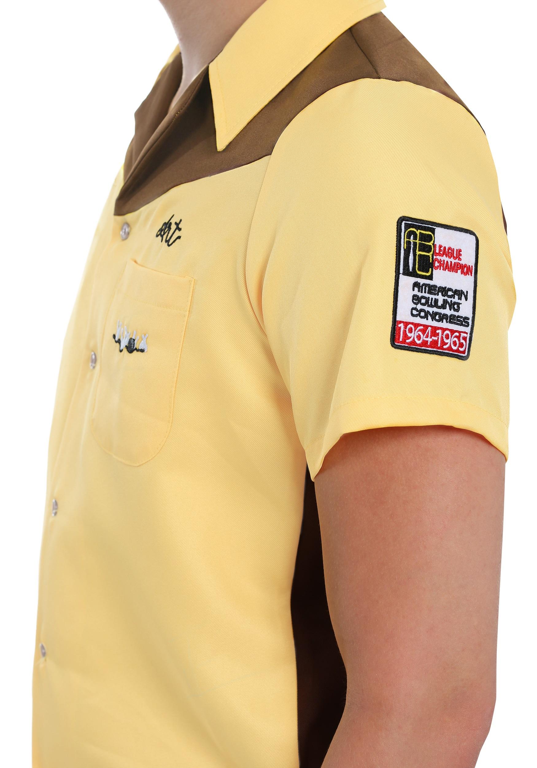 Mens Bowling Shirt