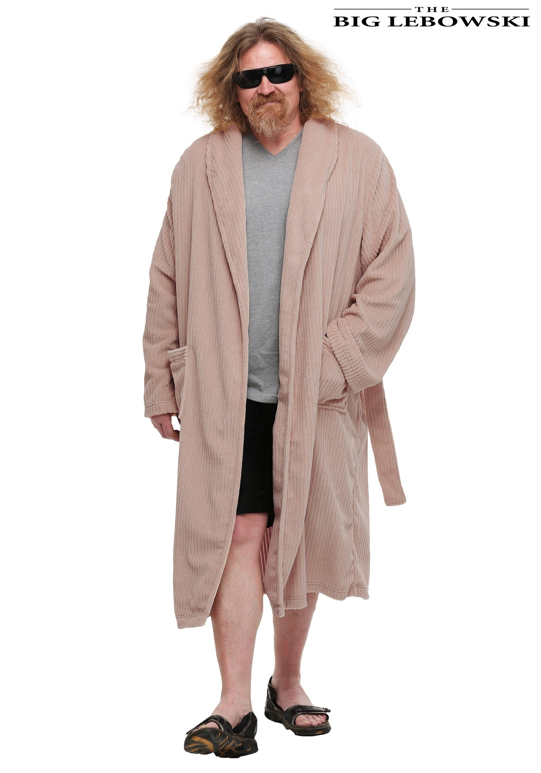 Indoor halloween party decorations - The Big Lebowski The Dude Bathrobe