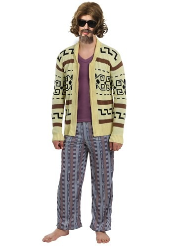 Image  The Big Lebowski The Dude Men's Sweater Costume