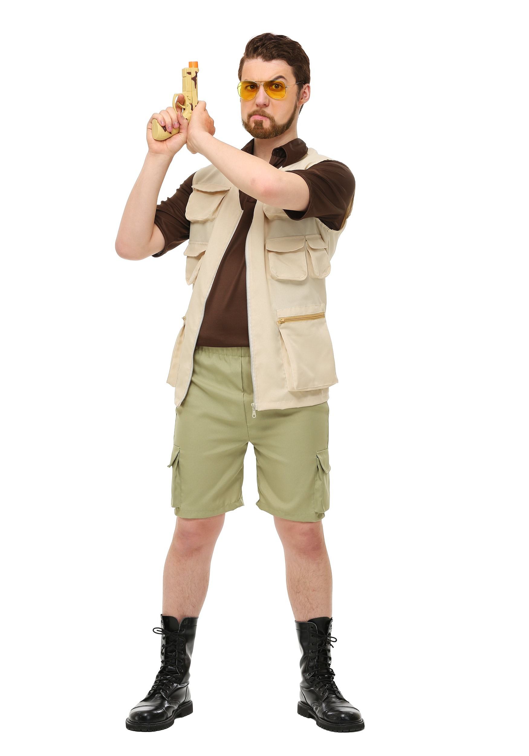 Mens The Big Lebowski Walter Costume FUN6337AD