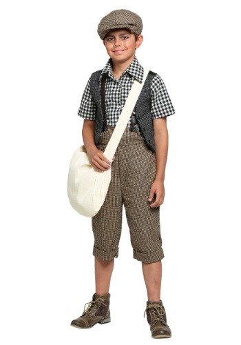 Child 20s Newsie Costume