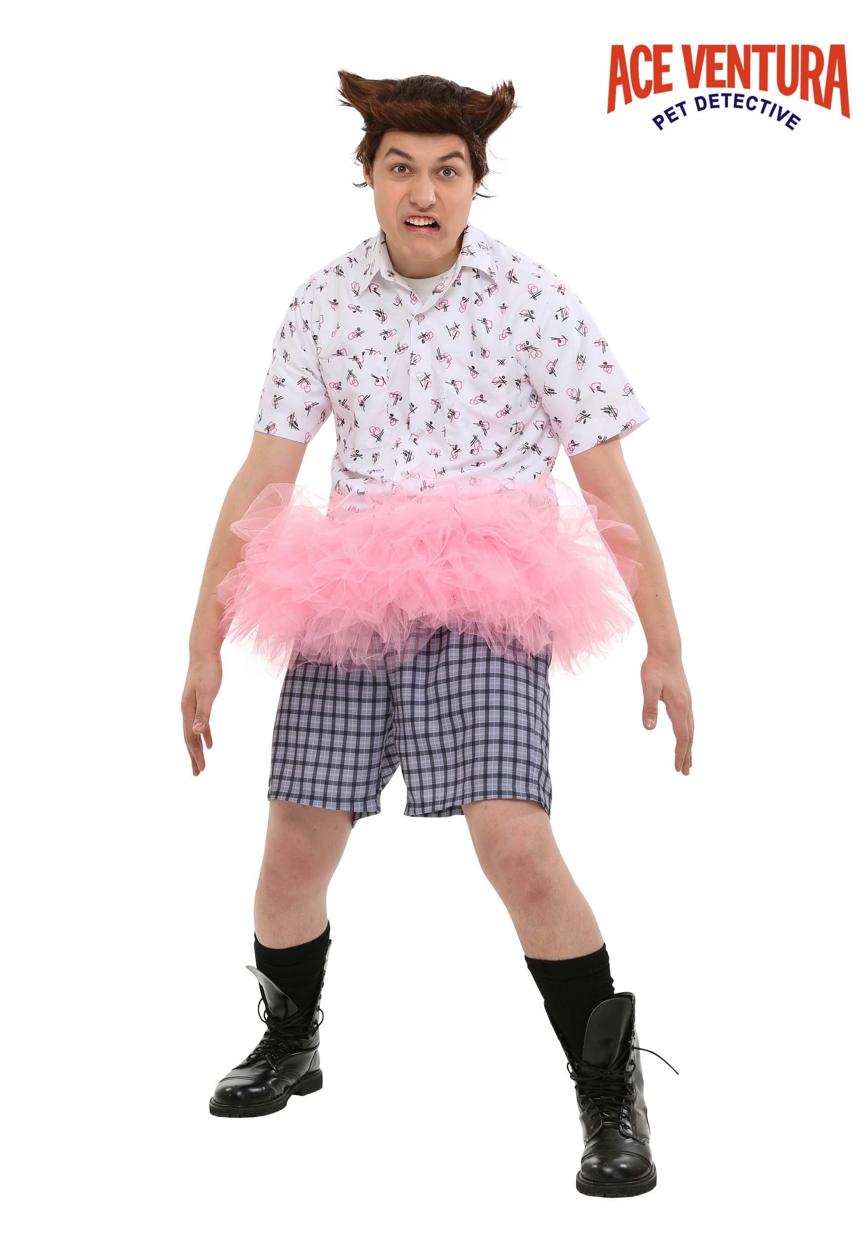 ace ventura tutu costume - Ace Ventura Halloween Costumes