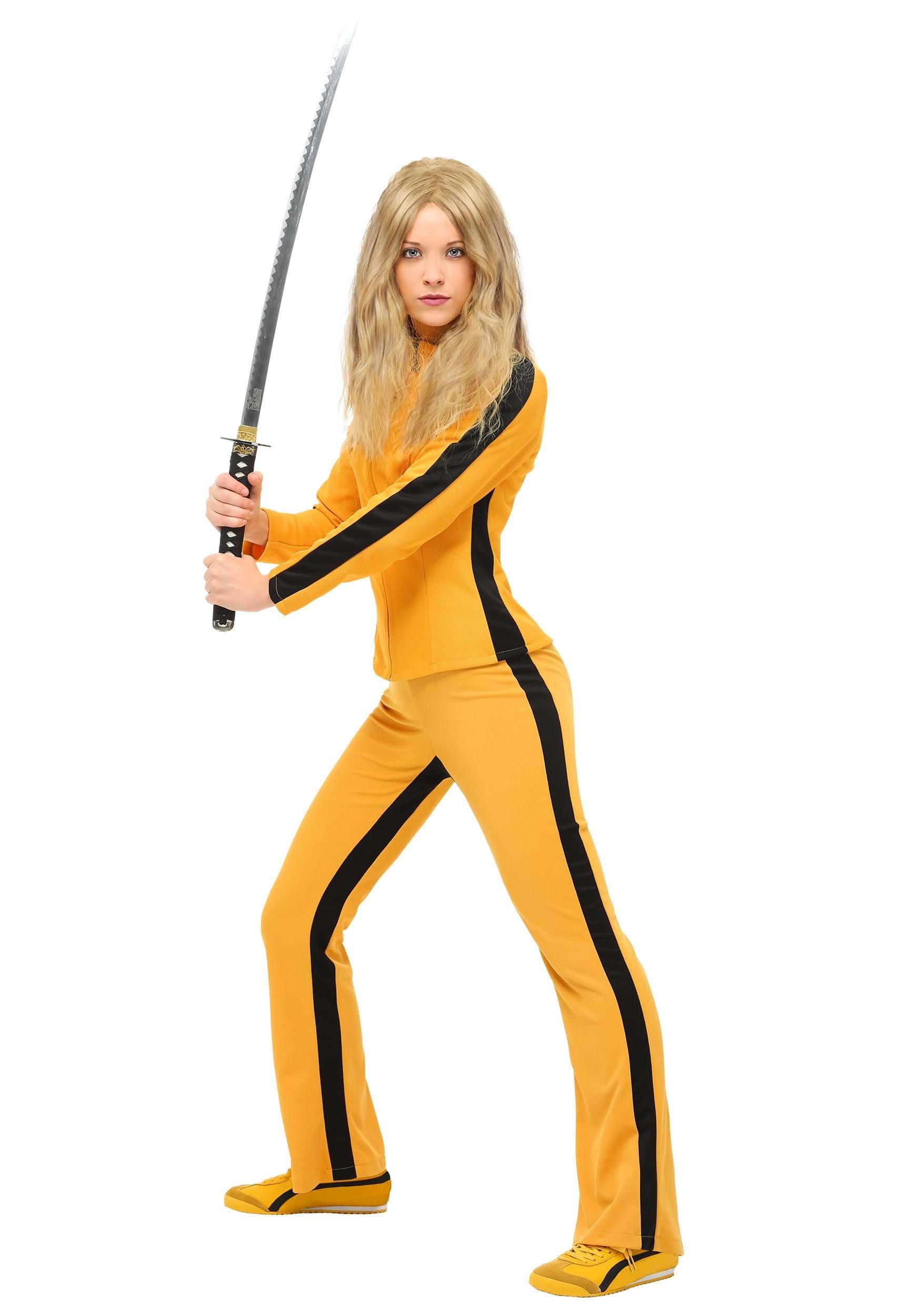 Womens Kill Bill Beatrix Kiddo Women's Costume FUN0205AD