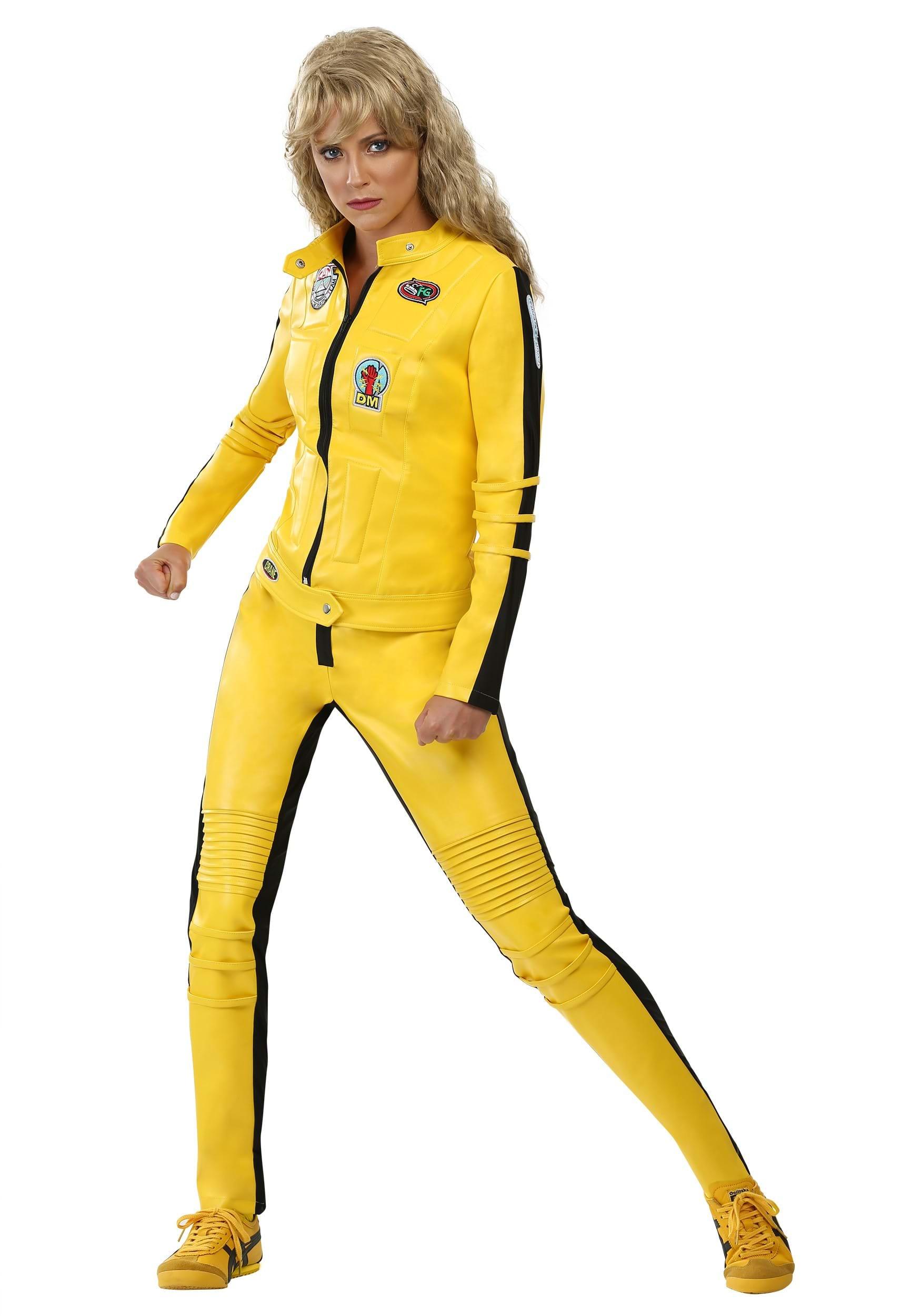 Kill Bill Women's Beatrix Kiddo Motorcycle Suit FUN0206AD