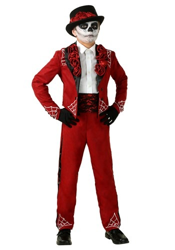 Click Here to buy Boys Day of the Dead Costume from HalloweenCostumes, CDN Funds