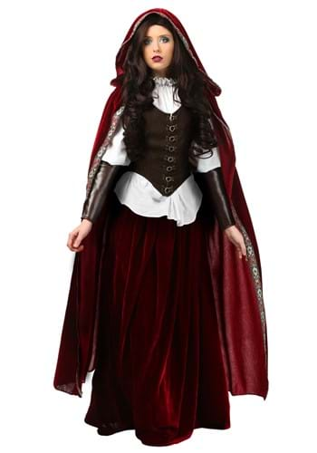 Deluxe Red Riding Hood Costume for Women