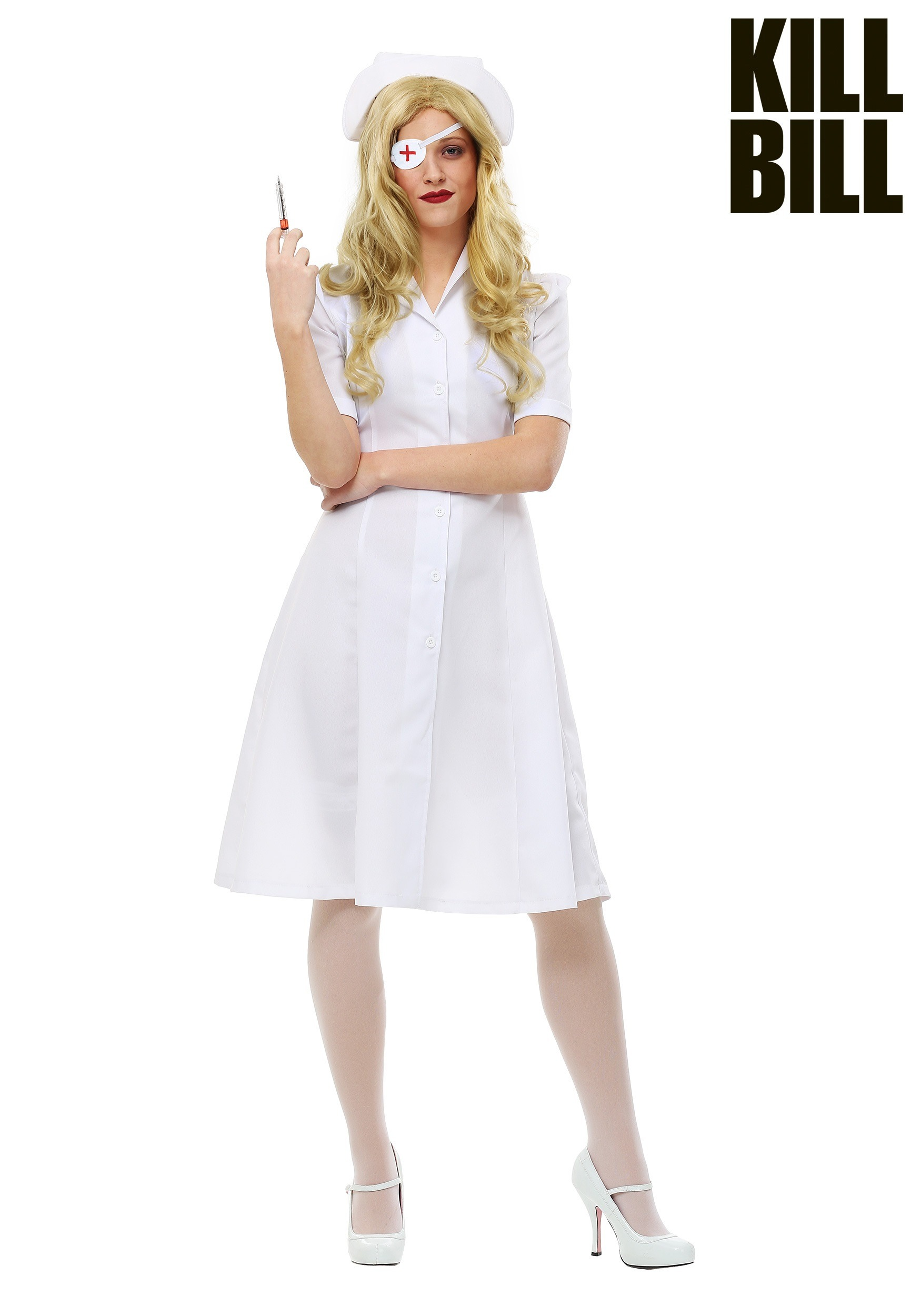 Kill Bill Elle Driver Nurse Womens Costume  sc 1 st  Halloween Costumes & Nurse / Doctor Costumes - Surgeon Doctor Nurse Costume