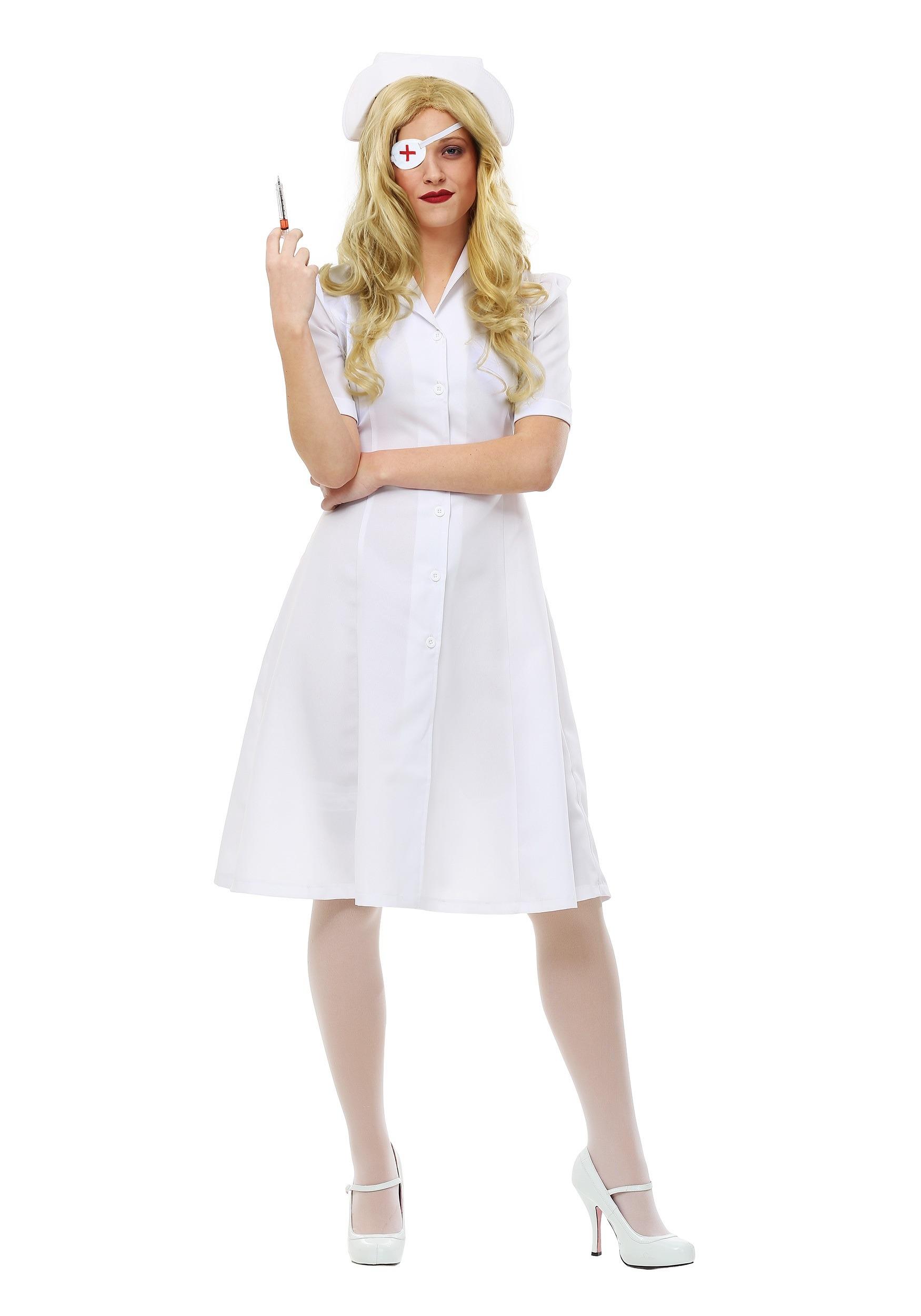 Kill Bill Elle Driver Nurse Womens Costume FUN0204AD