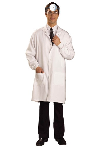 White Doctor Lab Coat By: Forum Novelties, Inc for the 2015 Costume season.