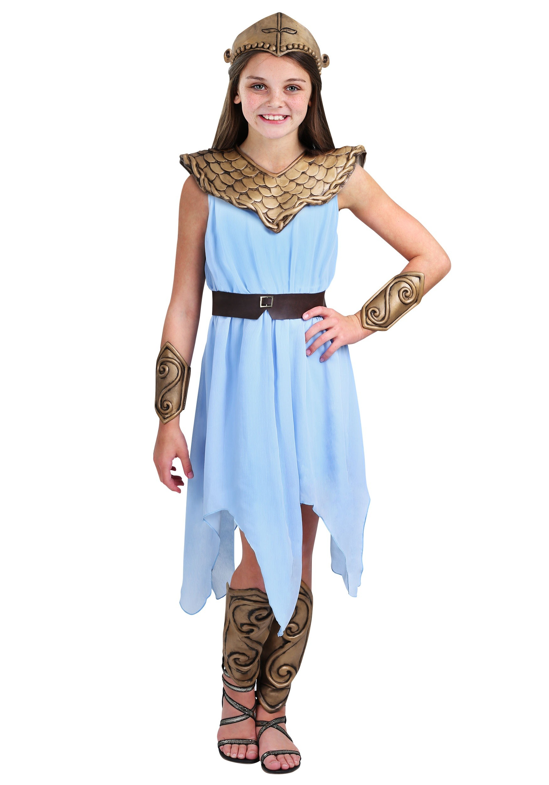 Athena Greek Goddess Costume For Girls | www.imgkid.com ...