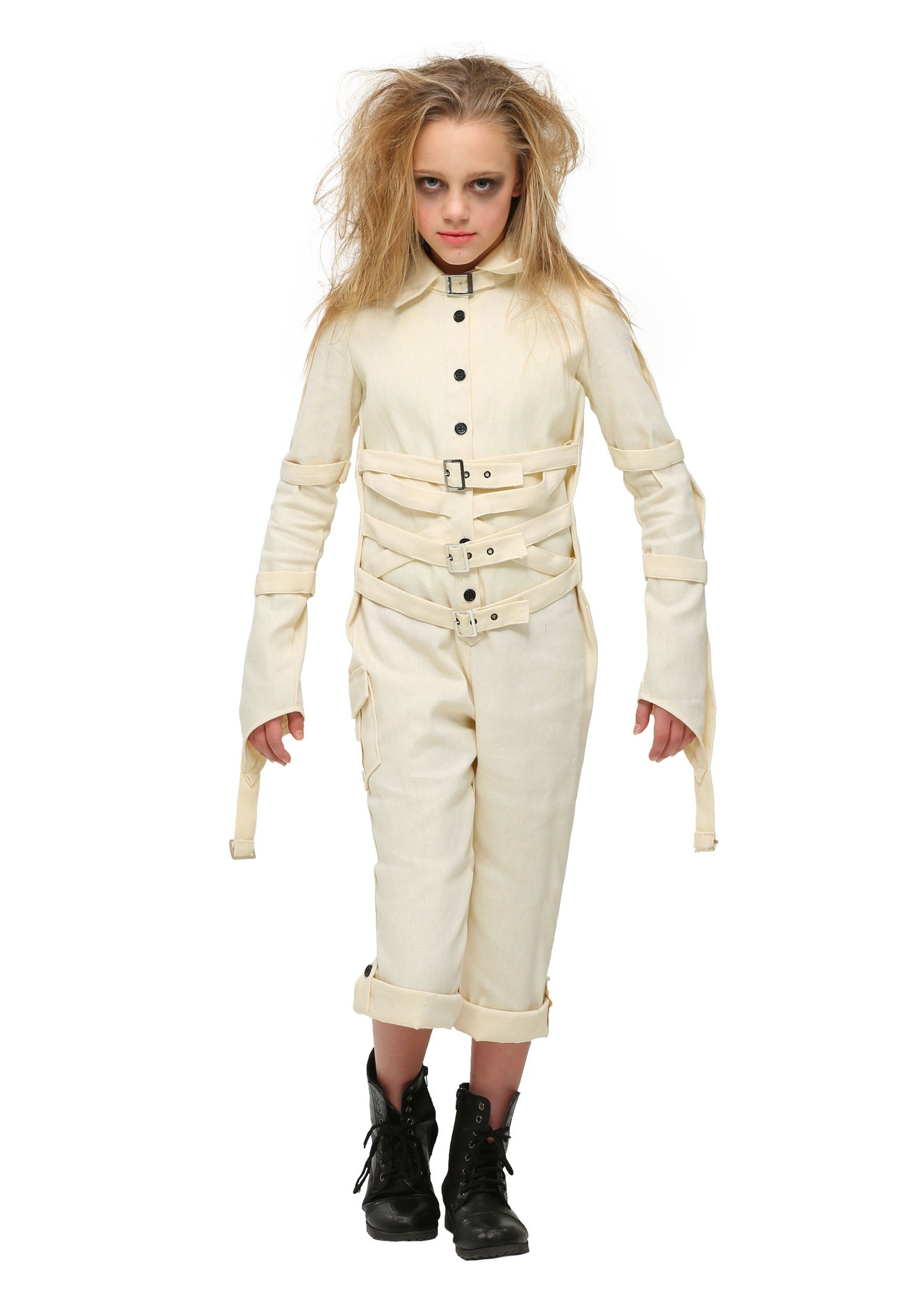 save off ccdd5 2a497 Girl s Insane Asylum Costume