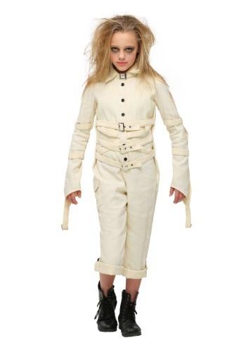 Girls Classic Straitjacket Costume