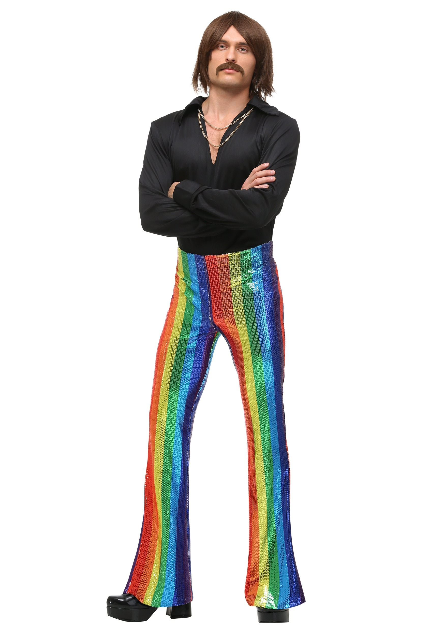 Disco King Plus Size Costume for Men