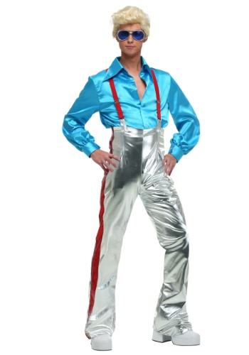 Mens Funky Disco Plus Size Costume