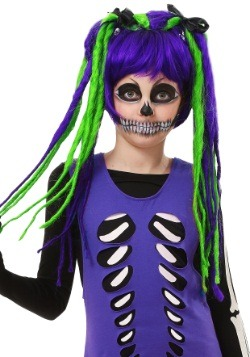 Neon Dreadlock Wig