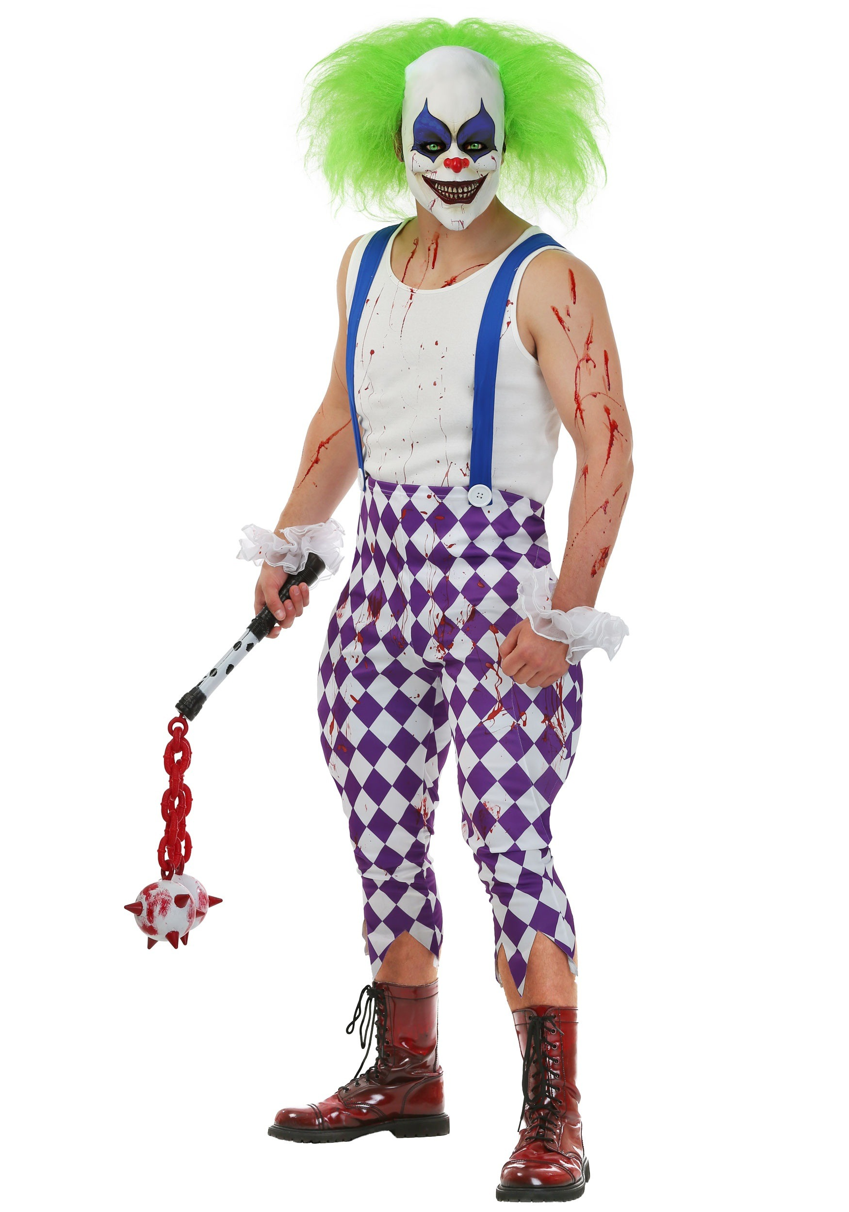 Nightmare Clown Costume  sc 1 st  Halloween Costumes & Menu0027s Nightmare Clown Costume